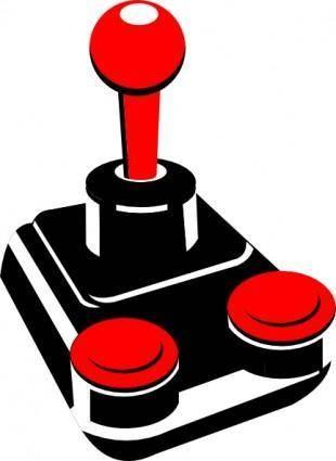 free vector Retro Joystick clip art