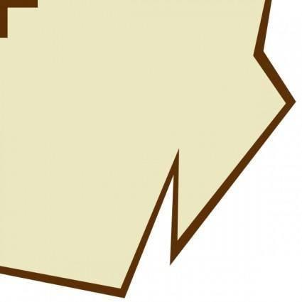 Gamr Map Border Paper clip art
