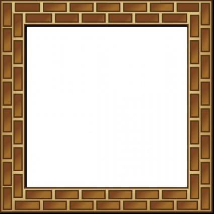 free vector Rpg Map Brick Border clip art