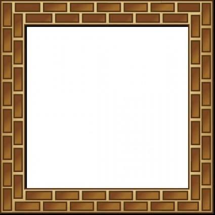 Rpg Map Brick Border clip art