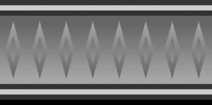 Game Map Graphite Border clip art