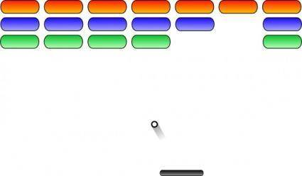 Arkanoid-like clip art