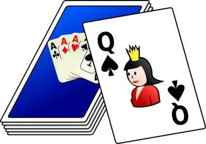 free vector Cards Deck clip art