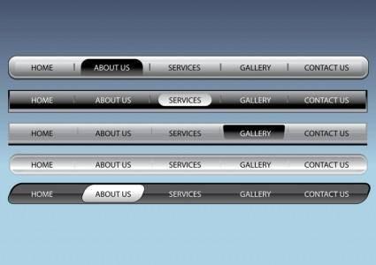 Web Navigation Bars