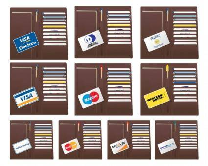 free vector Credit Cards