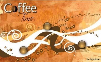 free vector Coffee Mood