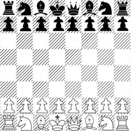 Chess Game clip art