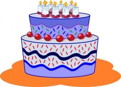 free vector Freephile Cake clip art