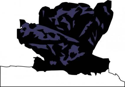 Red Cabbage clip art