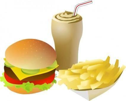 Srd Fastfood Menue clip art