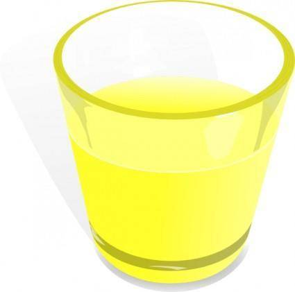 Flomar Glass Cup clip art