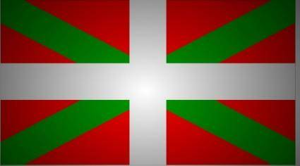 Sillius Flag Basque Country clip art