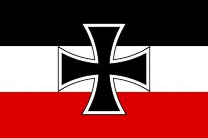 Flag Of North German Confederation Jack clip art