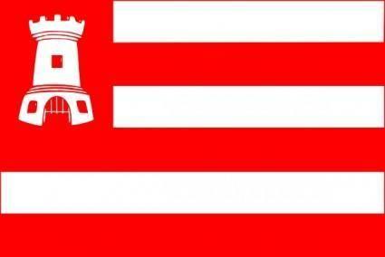 free vector Alkmaar Flag clip art