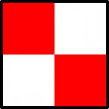 free vector Signal Flag Uniform clip art