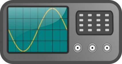 free vector Oscilloscope clip art