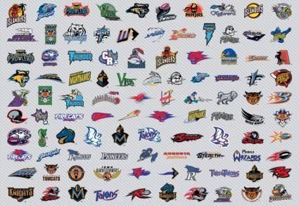 free vector AFL Football Logos