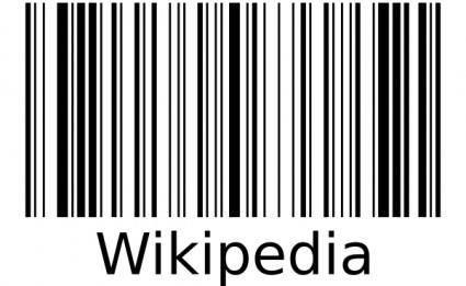 free vector Wikipedia Barcode clip art