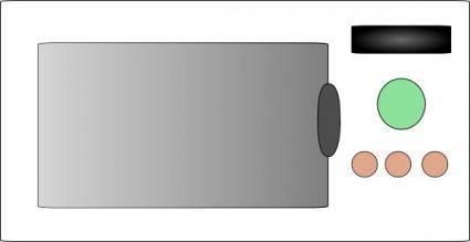 Mikrovlnna Trouba clip art