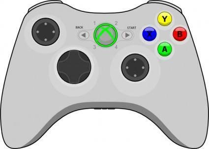 Xbox Gamepad clip art
