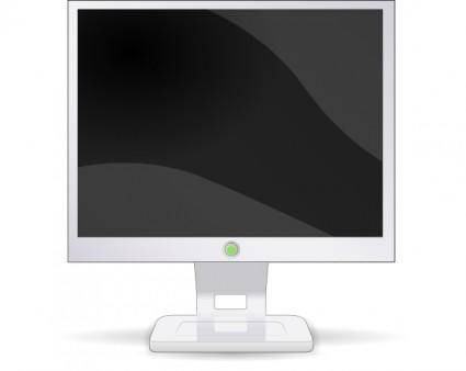 free vector Lcd Flat Screen clip art
