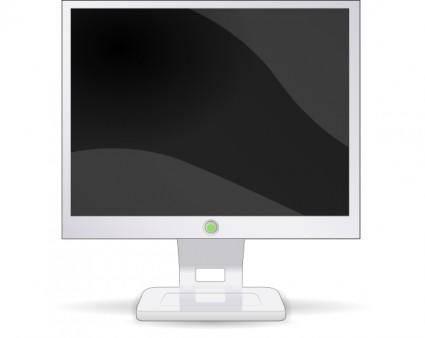 Lcd Flat Screen clip art