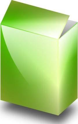 free vector Ronoaldo Green Box clip art