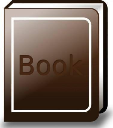 Ronoaldo Brown Book clip art