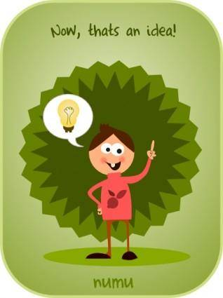 Kablam Numu Idea clip art