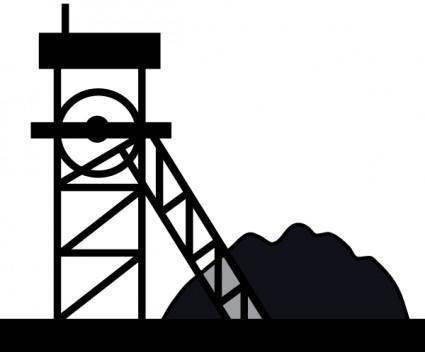 Coal Mine clip art
