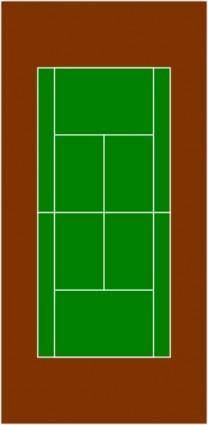 Tennis Court clip art