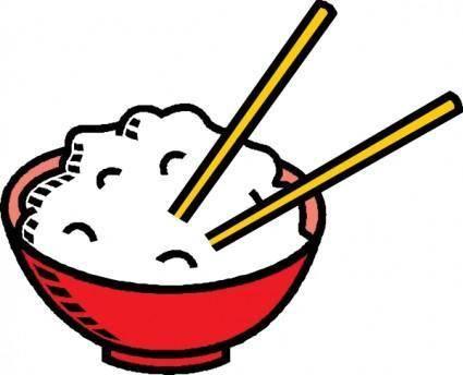 Bowl Of Rice clip art