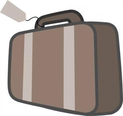 free vector Bag Luggage Travel clip art