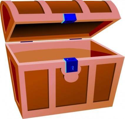 free vector Treasure Chest clip art