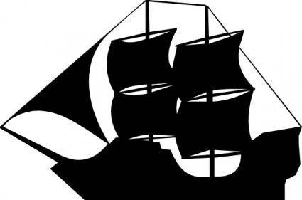 free vector Pirate Ship clip art
