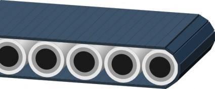 free vector Conveyor Belt clip art