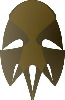 Tribal African Mask clip art
