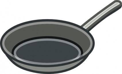 free vector Frying Pan clip art