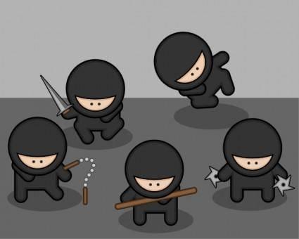 Ninjas clip art