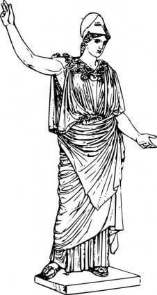 Athena clip art
