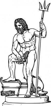 Poseidon   clip art