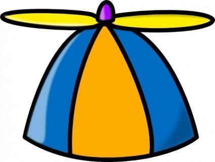 Propeller Hat clip art