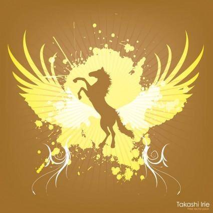 free vector Jumping Horse Graphics