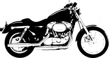 free vector Claydowling Harley Davidson Sportster clip art