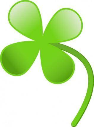 Four Leaves Clover clip art