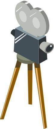 Cartoon Movie Camera clip art