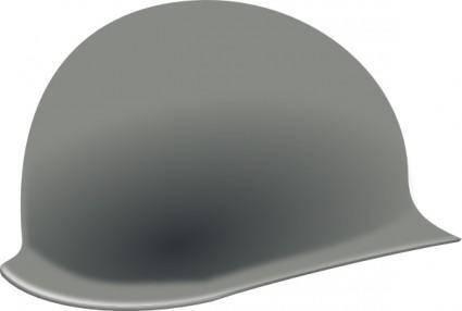 Us Helmet Second World War clip art