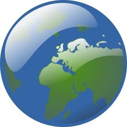 free vector Earth Globe clip art