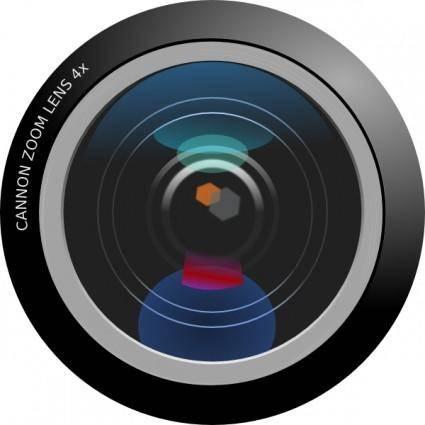 free vector Camera Lens clip art