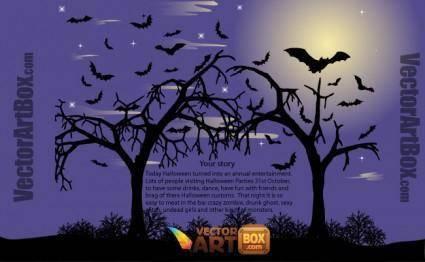 free vector Vector Halloween Poster
